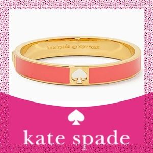 Take 40% Off Kate Spade ♠️ Coral Spade Bracelet